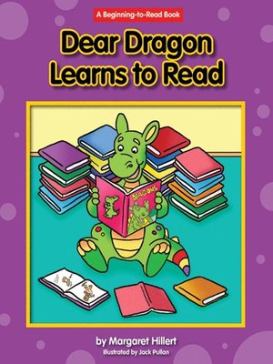 cover image of Dear Dragon Learns to Read
