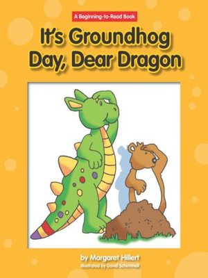 cover image of It's Groundhog Day, Dear Dragon