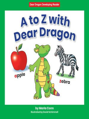 cover image of A to Z with Dear Dragon