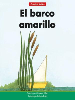cover image of El barco amarillo