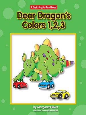 cover image of Dear Dragon's Colors 1, 2 ,3