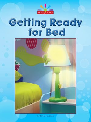 cover image of Getting Ready for Bed