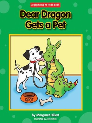 cover image of Dear Dragon Gets a Pet