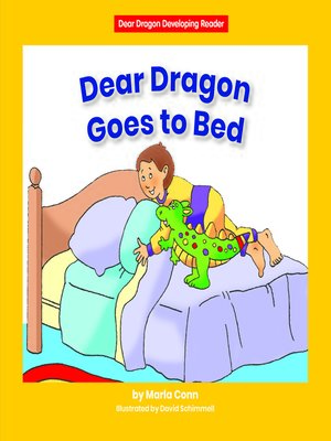 cover image of Dear Dragon Goes to Bed