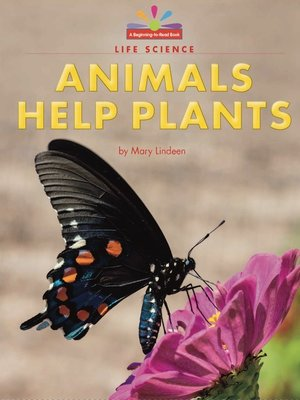 cover image of Animals Help Plants