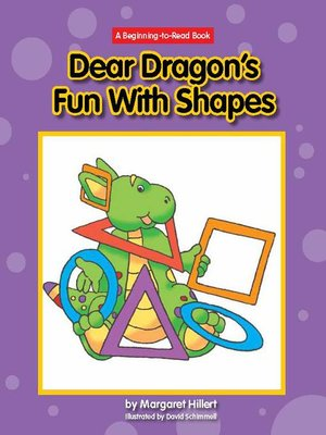 cover image of Dear Dragon's Fun with Shapes