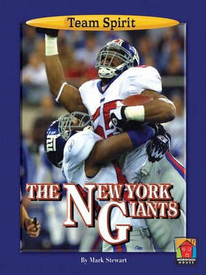 cover image of The New York Giants
