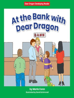 cover image of At the Bank with Dear Dragon