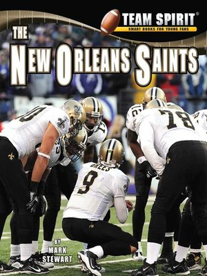 cover image of The New Orleans Saints