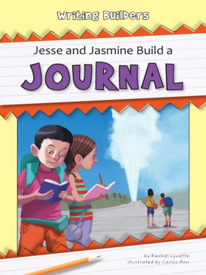 cover image of Jesse and Jasmine Build a Journal