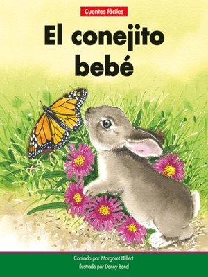 cover image of El conejito bebé
