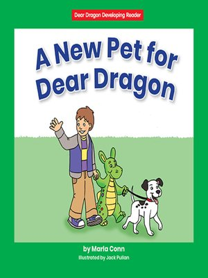 cover image of A New Pet for Dear Dragon