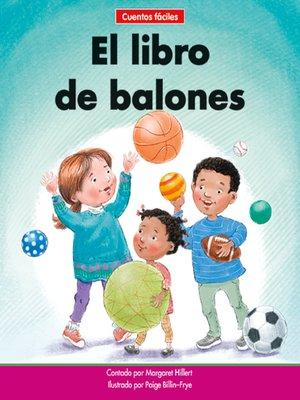 cover image of El libro de balones