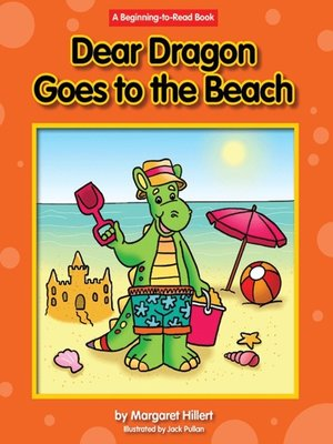cover image of Dear Dragon Goes to the Beach