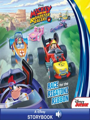 cover image of Race for the Rigatoni Ribbon!