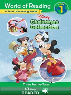 cover image of Disney Christmas Collection 3-in-1 Listen-Along Reader