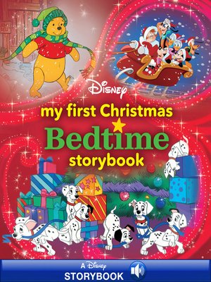 cover image of My First Disney Christmas Bedtime Storybook