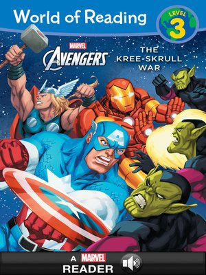 cover image of The Kree-Skrull War: A Marvel Read-Along (Level 3)