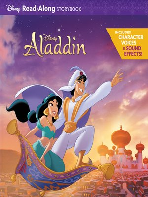 cover image of Aladdin Read-Along Storybook