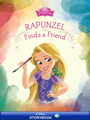 cover image of Rapunzel Finds a Friend