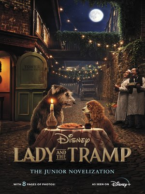 cover image of Lady and the Tramp Live Action Junior Novel