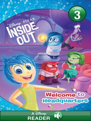 cover image of Welcome to Headquarters: A Disney Read-Along (Level 1)