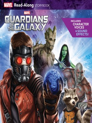 cover image of Guardians of the Galaxy Read-Along Storybook