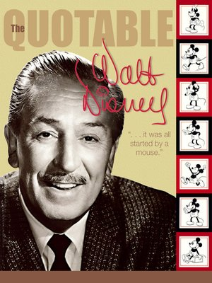 cover image of The Quotable Walt Disney