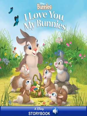 cover image of I Love You, My Bunnies