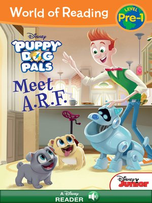 cover image of Puppy Dog Pals: A.R.F.