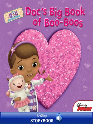 cover image of Doc's Big Book of Boo-Boos: A Disney Read-Along