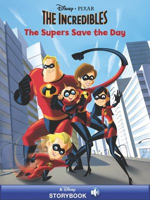 cover image of The Supers Save the Day