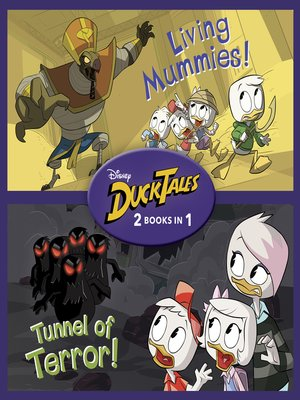 cover image of Living Mummies! / Tunnel of Terror!