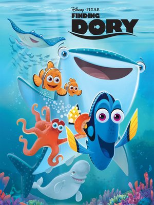 cover image of Finding Dory Movie Storybook