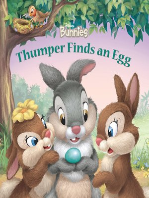 cover image of Thumper Finds an Egg