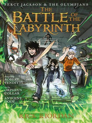 cover image of Battle of the Labyrinth