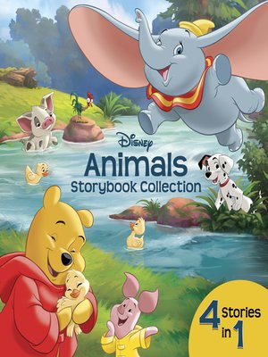 cover image of Disney Animals Storybook Collection