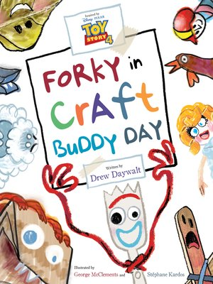 cover image of Forky in Craft Buddy Day