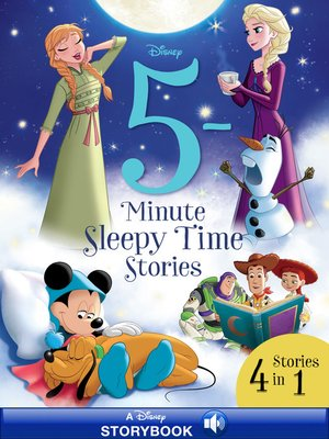 cover image of 5-Minute Sleepy Time Stories