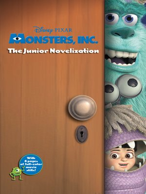 cover image of Monsters, Inc. Junior Novel
