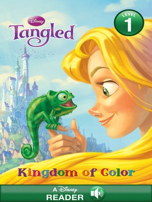 cover image of Tangled: Kingdom of Color