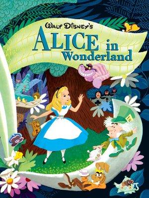 cover image of Walt Disney's Alice in Wonderland