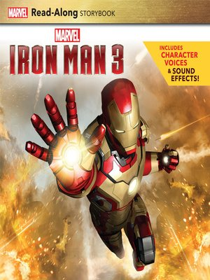 cover image of Iron Man 3 Read-Along Storybook