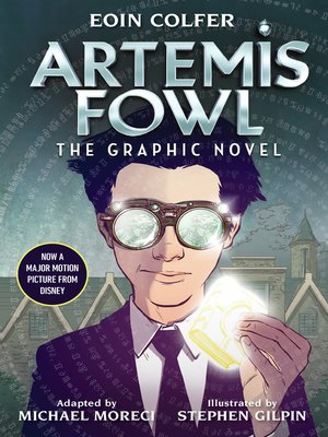 cover image of Artemis Fowl: The Graphic Novel