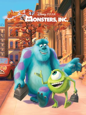 cover image of Monsters, Inc. Movie Storybook