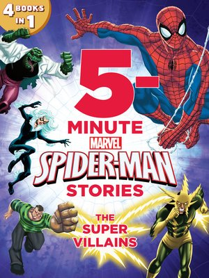 cover image of 5-Minute Spider-Man Stories