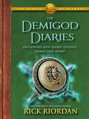 cover image of The Demigod Diaries