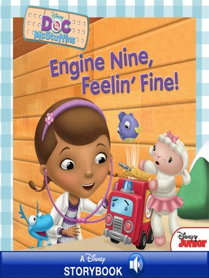 cover image of Engine Nine, Feelin' Fine!: A Disney Read Along