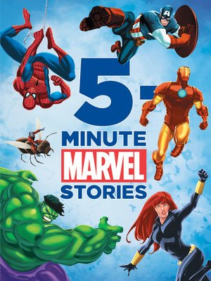 cover image of Marvel 5-Minute Stories