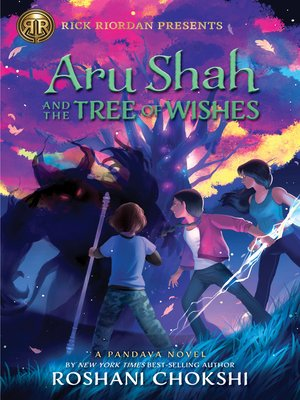 cover image of Aru Shah and the Tree of Wishes